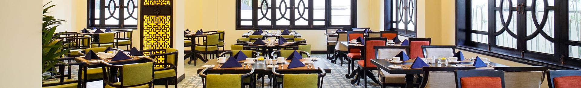 Le Pavillon Resort & Spa Dining
