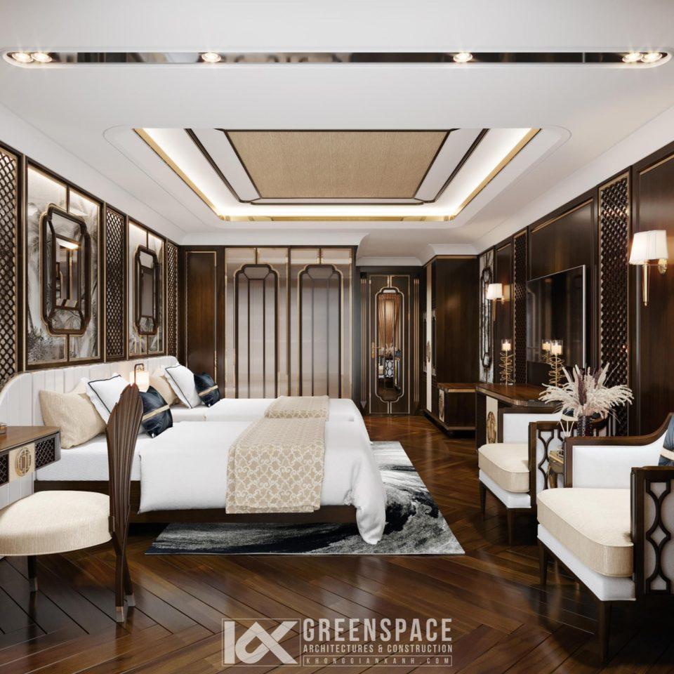 Le Pavillon Deluxe Room