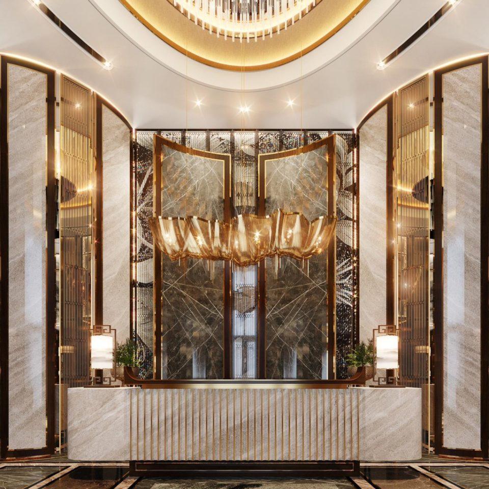 Le Pavillon Hallway