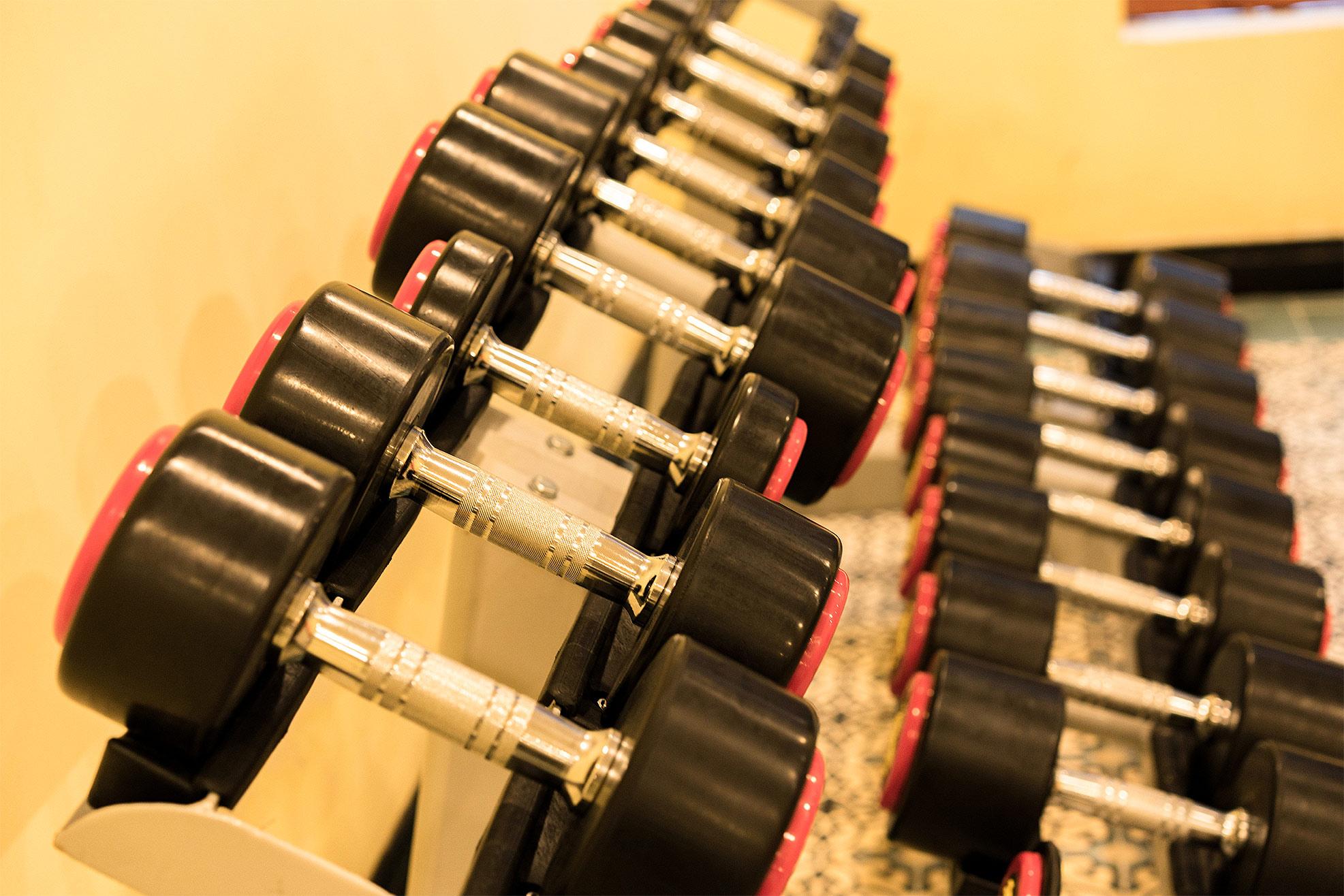 85.Fitness Center_s Corner